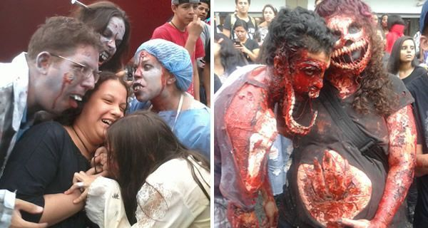 Marcha Zombie Caracas 2013