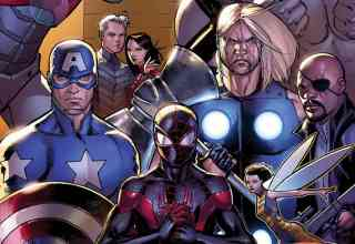 Marvel Ultimate End The Avengers