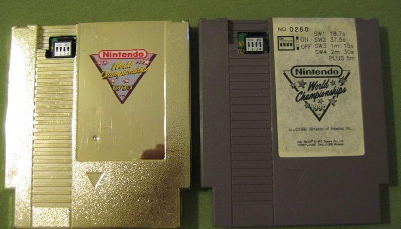 Cartucho Nintendo World Championship 1990