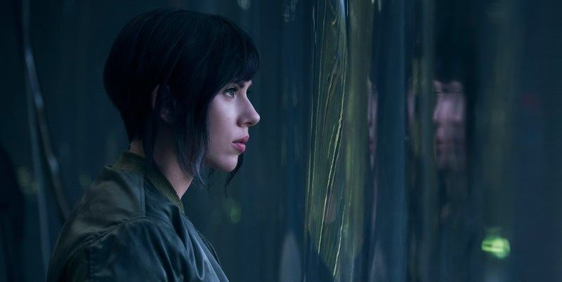 Scarlett Johansson The Major Ghost in the Shell