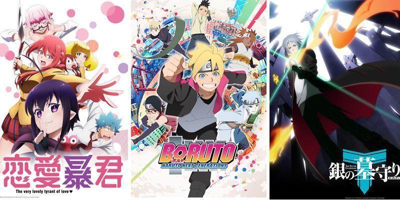 Avalancha de estrenos en Crunchyroll, empezando por Boruto