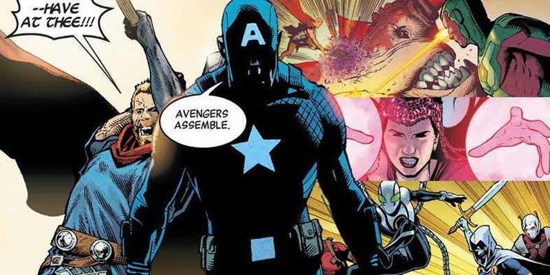Captain America Hydra Avengers