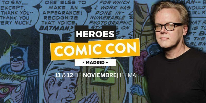 Bruce Timm heroes comic con