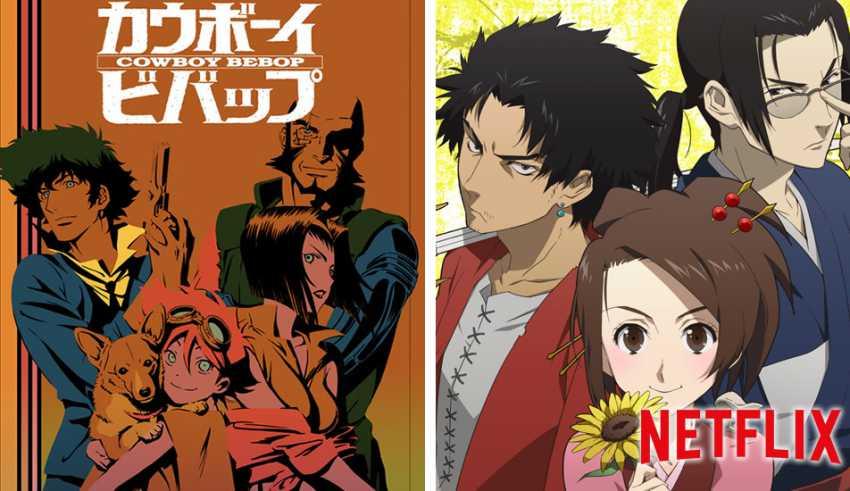 Cowboy Bebop y Samurai Champloo de Shinichiro Watanabe en Netflix