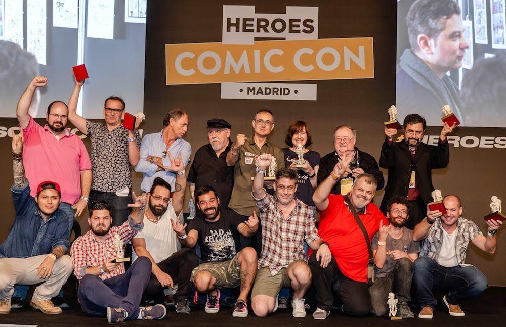 Ganadores II Premios Carlos Giménez