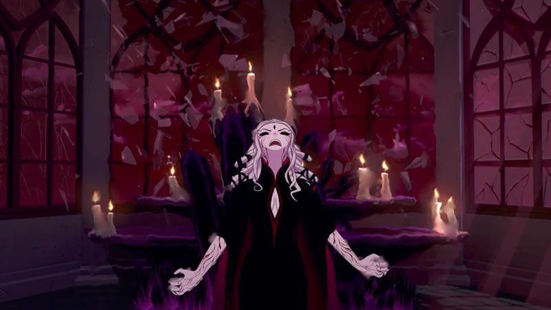 RWBY v06e04: Do not get Salem wrong, she is terrifying