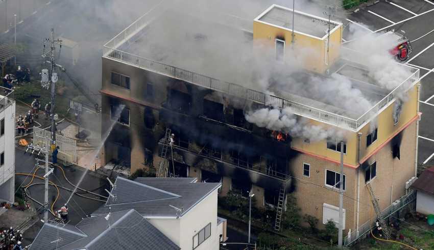 Incendio Kyoto Animation